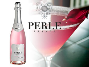Perle Rose de Chavin pour des cocktails so girly